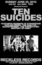 Ten Suicides