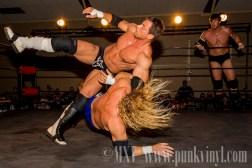 Jay Bradley/Vic Capri vs. Jerry Lynn/Mike Horning