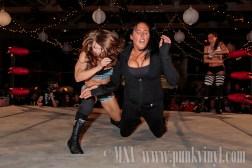 Awesome Kong/Melanie Cruise vs. D'Arcy Dixon/Nikki St. John