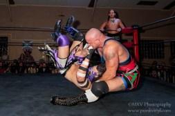 Hardcore Craig/Ruff Crossing vs. Three Rings