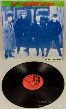 Anti-Nowhere League - LP reissue