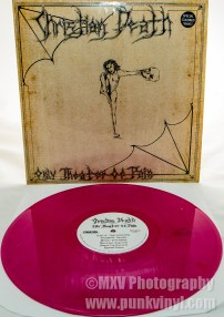 Christian Death LP rhubarb vinyl