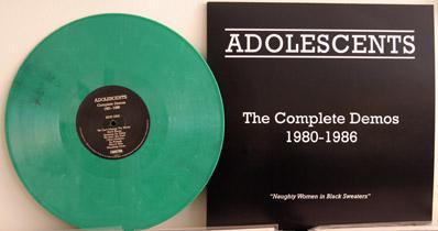 Adolescents green vinyl