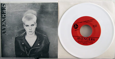 Avengers white vinyl