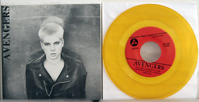 Avengers yellow vinyl