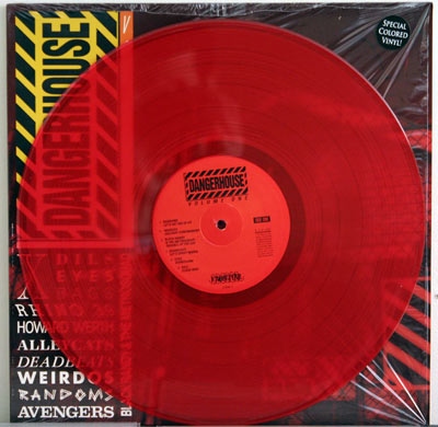 Dangerhouse Volume 1 on red