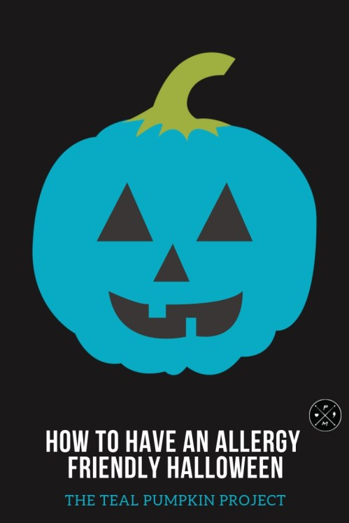 Guest post from Leila about Halloween, Food Allergies, and The Teal Pumpkin Project. How to offer non food treats at Halloween.