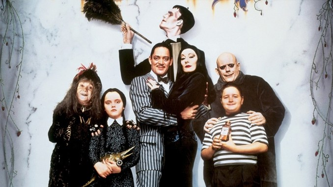 Addams Family - Kid friendly movies