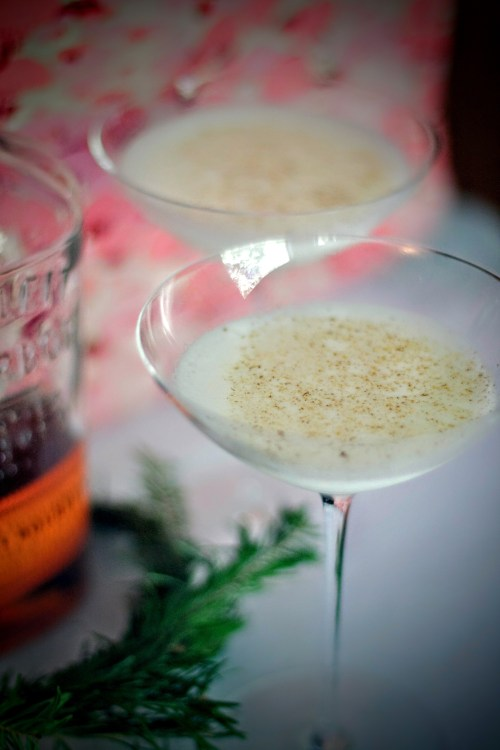 Bourbon Milk Punch is the greatest Christmas cocktail you've never heard of! It's creamy, it's dreamy, and it's definitely not eggnog.