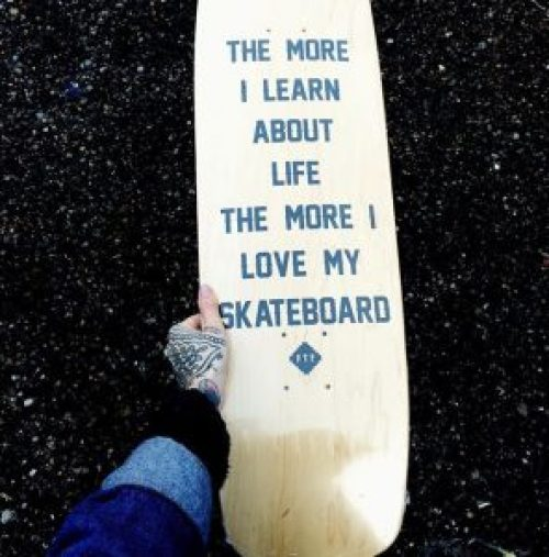 The Perfect Punk Gifts For the Punky Dads In Your Life - Skateboard by Red Temple Prayer
