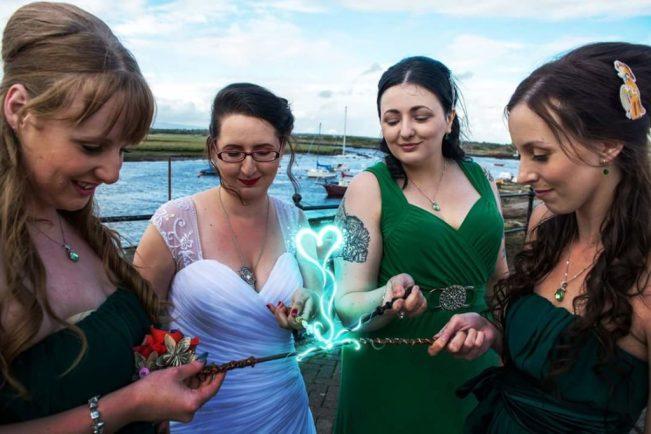 Punky Moms Alternative Wedding, Budget Geek