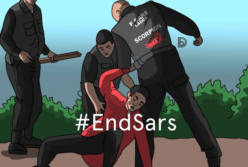 Marlians don't follow instructions: A report on Thursday's #EndSARS protests