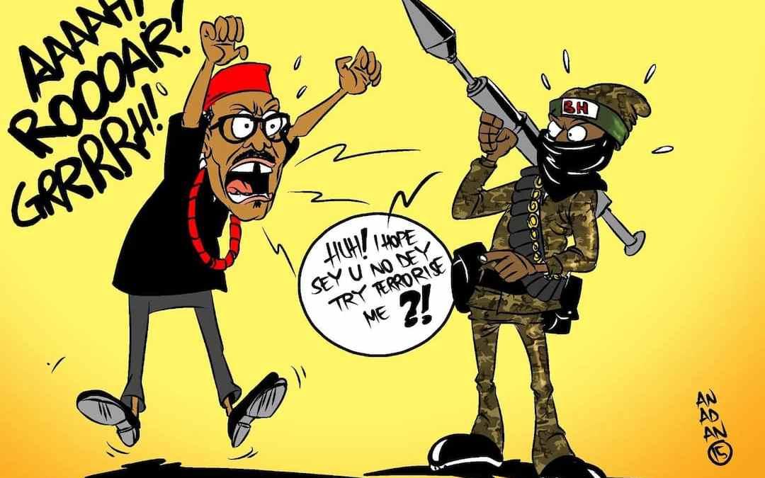 Buari swears to apprehend perpetrators: A short address to Nigerians