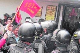 Movadef busca hoy el control del Sutep, elecciones en Puno