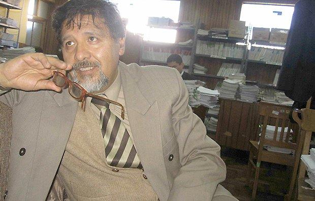 POLÉMICO. Peter Manzaneda aspira a ser decano de abogados.