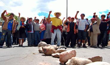 Manifestantes bloquearon el ingreso a la ciudad (Referencial)