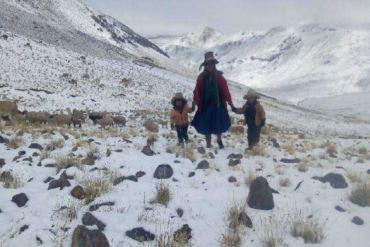 Lluvia, Granizo Y Nevada Caerán En La Sierra Y Costa Norte