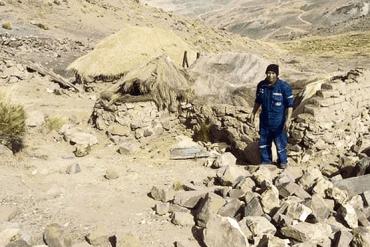 Sismo en Lampa - Puno deja cinco familias afectadas y viviendas rajadas