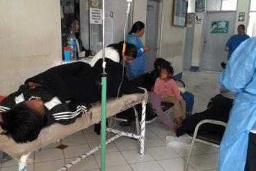 Siete niños y dos adultos se intoxican por consumir alimentos contaminados en Puno