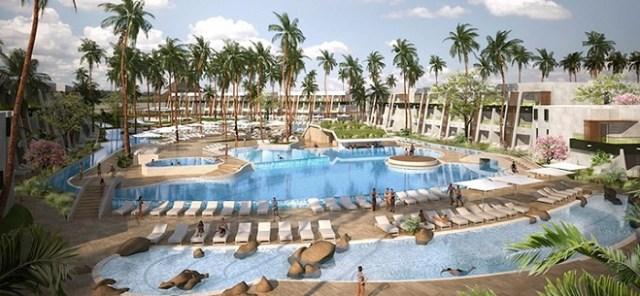 Vista de la piscina del nuevo Now Onyx Punta Cana
