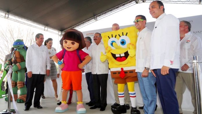 Inauguracion oficial Nickelodeon Punta Cana