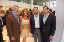Oscar Sanoja, Bruni Campan_a, Salomon Sanz y Jean Michael Campan_a