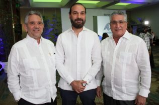 Roberto Henriquez, Omar Cepeda y Jose Natalio Redondo