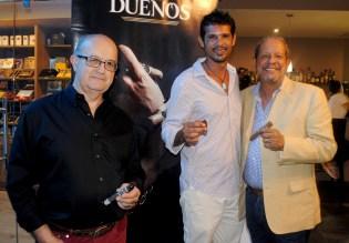 Antonio Ribas, Scander Chida y Ernesto Véloz