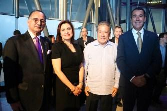 Arturo Villanueva, Elis Faña, Rafael Blanco, Juan Manuel Martín de Oliva