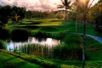 Barcelo The Lakes golfbanen i Punta Cana