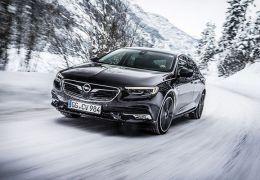 Nuevo Opel Insignia tracción total, frente - PUNTA TACÓN TV