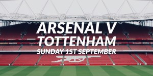 Arsenal v Tottenham Betting Tips -- September 1st, 2019 @ 4.30pm