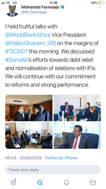 The Fallacy of Debt Relief for Somalia