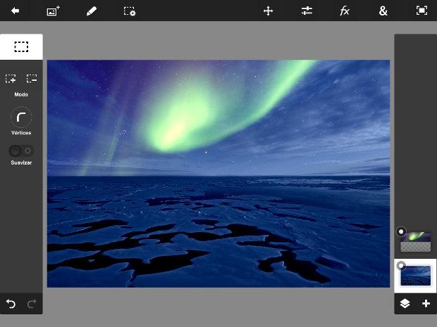 efecto luz de luna photoshop