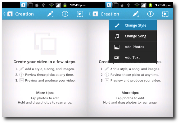 Crear Video Con Animoto Para Android