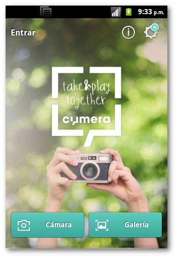 Cymera, potente editor de fotos para Android