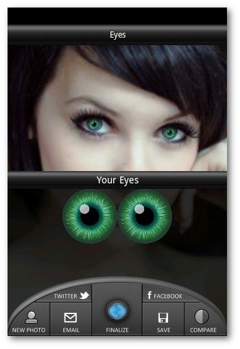 Color personalizado utilizando Eye Studio Creator