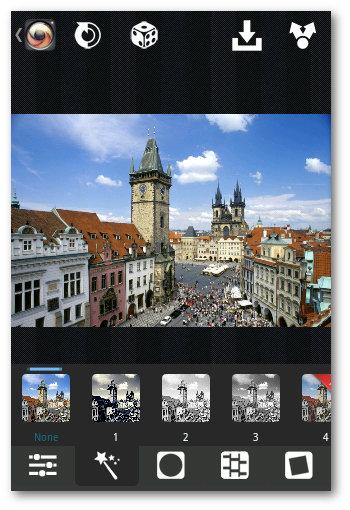 XnRetro para imagenes en dispositivos Android