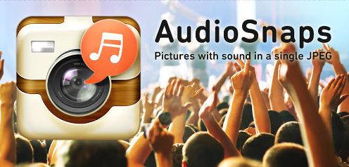 AudioSnaps-Crea fotos con audio