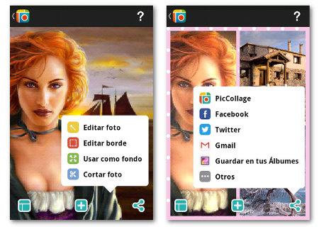 Editar y Compartir Pic Collage