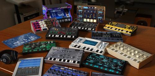 KORG Gadget, sintetizadores virtuales y cajas de ritmos para el iPad