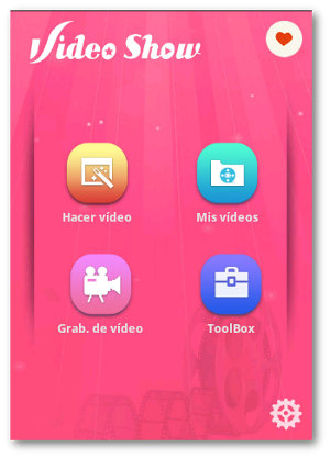 videos con fotos con VideoShow