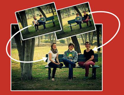 Groopic permite tomar fotos grupales incluyendo al fotógrafo