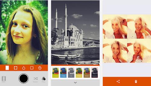 Retrica - aplicación para editar fotos
