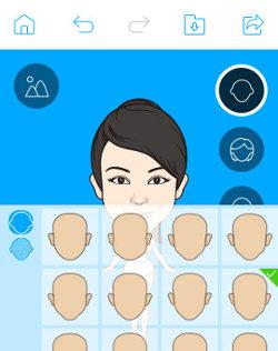 app android para crear un avatar
