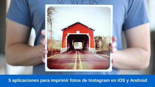 aplicaciones para imprimir fotos de instagram