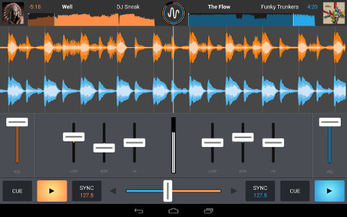 app musical en android