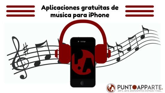 portada Aplicaciones gratuitas de música para