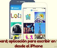 Inkboard; aplicación para escribir en fotos desde el iPhone