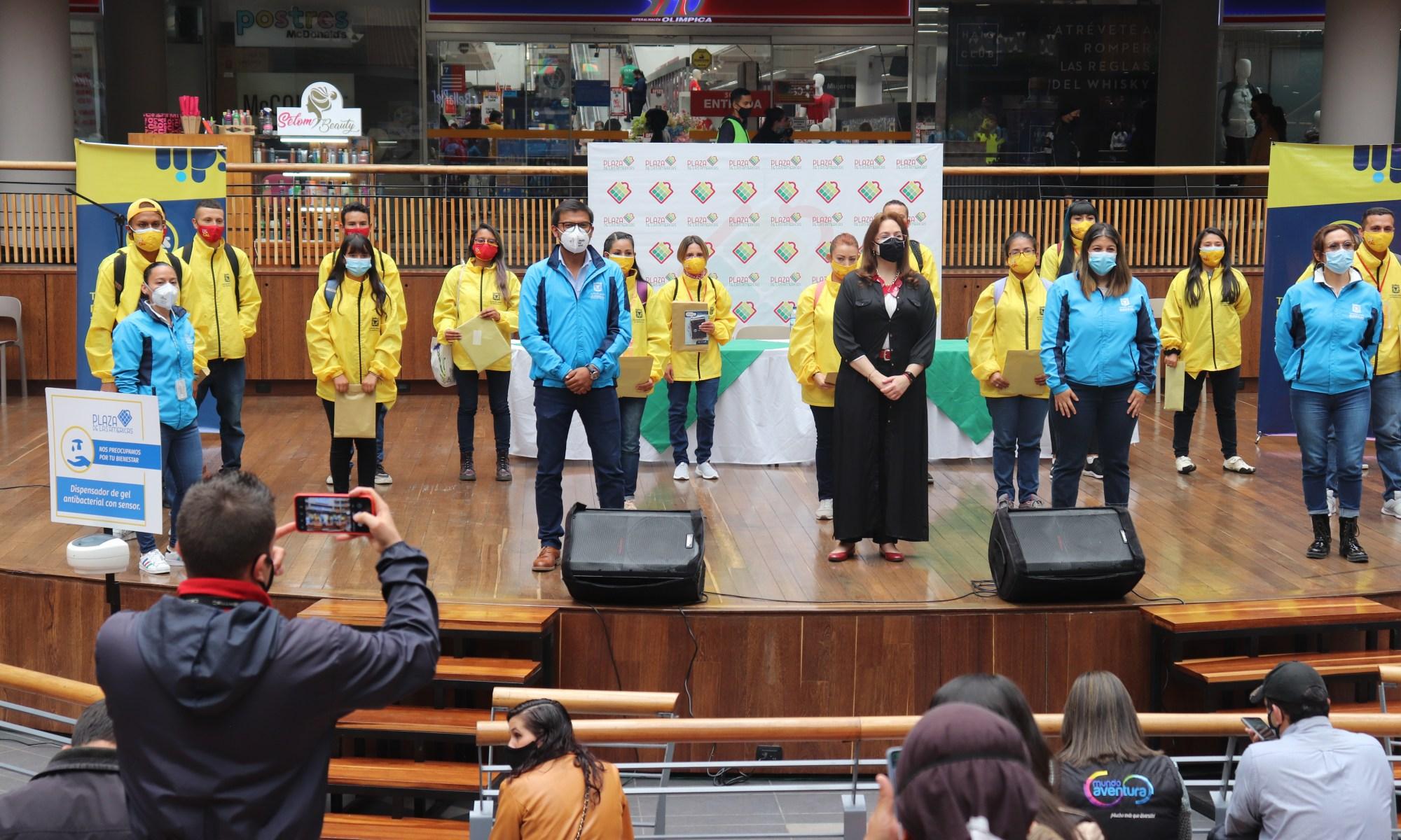Lanzamiento del curso de promotores de cuidado en Plaza de las Américas